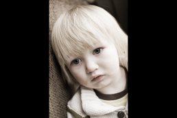 Boy photographed near Stratford upon Avon