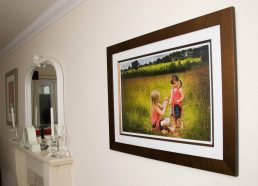 Photographer Warwickshire - framed image on wall