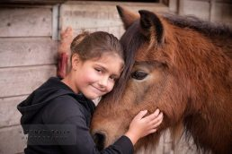 Horse and girl photographer stratford-upon-avon