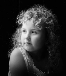 family-photography-birmingham- black and white girl