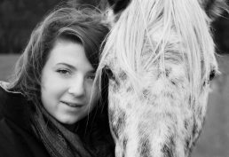 Family photography - Teenage girl with her horse near Redditch, Worcestershire