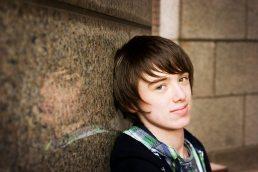 teenager close up