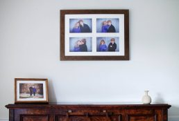 Photographer Cotswolds - multi-aperture framed image on wall