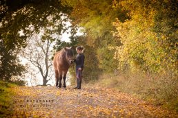 girl and pony, near Redditch