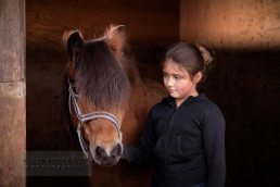 Horse and girl photographer Warwickshire