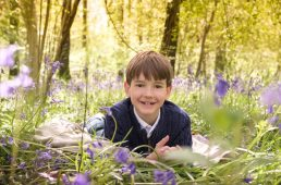 Family-Photography-in-Warwickshire-bluebells