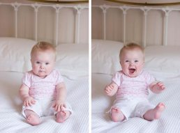 Baby photography: baby photographed in Warwickshire