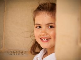 Leamington Spa photographer - girl by wall