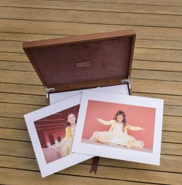 Folio Box for family photos
