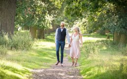 Parents on a Family photoshoot In Worcestershire