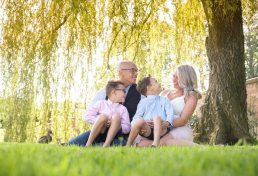 Family photoshoot In Worcestershire